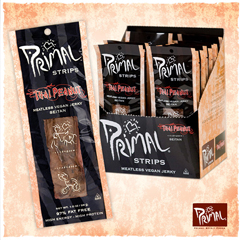 BFG24459 - Primal Spirit FoodsThai Peanut Seitan Strips