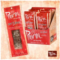 BFG24462 - Primal Spirit FoodsShiitake Mushroom Hot & Spicy Strips