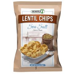 BFG25684 - Simply 7Sea Salt Lentil Chips