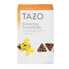 BFG25758 - Tazo TeasFlowering Honeybush Herbal Tea