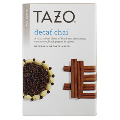 BFG25786 - Tazo TeasChai Decaffeinated Tea
