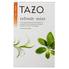 BFG25800 - Tazo TeasRefresh Mint Herbal Tea