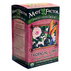 BFG26121 - The Mate FactorTropical Lime Yerba Mate Tea