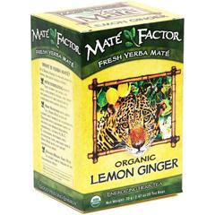 BFG26122 - The Mate FactorLemon Ginger Yerba Mate Tea