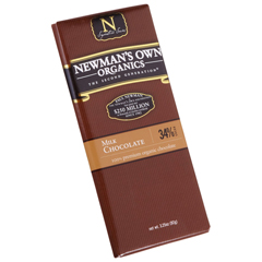 BFG27400 - Newman's Own OrganicsMilk Chocolate Bar