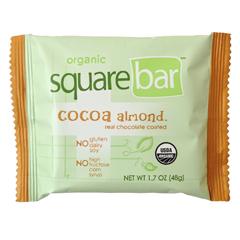 BFG27980 - SquarebarCocoa Almond Organic Protein Bar