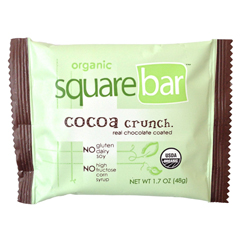 BFG27981 - SquarebarCocoa Crunch Organic Protein Bar