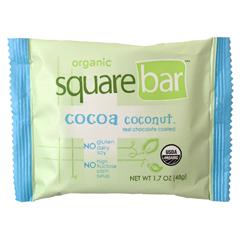 BFG27982 - SquarebarCocoa Coconut Organic Protein Bar