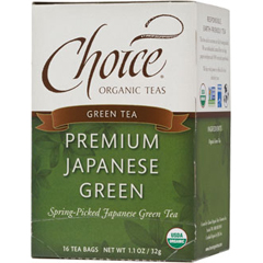 BFG28148 - Choice Organic TeasPremium Japanese Green Tea