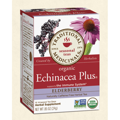 BFG28950 - Traditional MedicinalsOrganic Echinacea Plus® Elderberry Tea