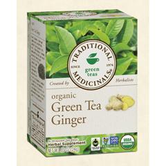 BFG28952 - Traditional MedicinalsOrganic Green Tea Ginger