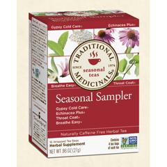 BFG28962 - Traditional MedicinalsSeasonal Tea Sampler