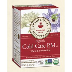 BFG29002 - Traditional MedicinalsOrganic Cold Care P.M.® Tea