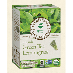 BFG29039 - Traditional MedicinalsOrganic Green Tea Lemongrass