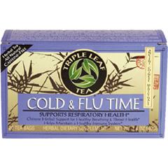 BFG29234 - Triple Leaf TeaCold & Flu Time Tea (No Ma Huang) Tea