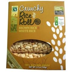BFG31315 - J1 SnacksCrunchy Brown Rice & White Rice Rolls