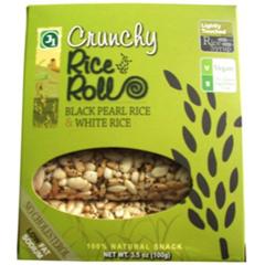 BFG31316 - J1 SnacksCrunchy Black Rice & White Rice Rolls