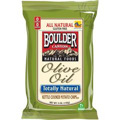 BFG31355 - Boulder CanyonOlive Oil Totally Natural Kettle Chips