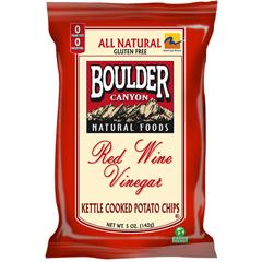 BFG31356 - Boulder CanyonRed Wine Vinegar Kettle Chips