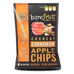 BFG32150 - Bare FruitAll-Natural Cinnamon Apple Chips