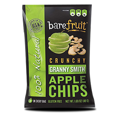 BFG32154 - Bare FruitAll-Natural Granny Smith Apple Chips