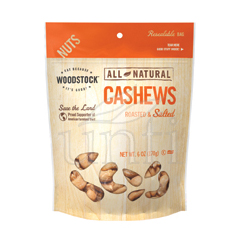 BFG32204 - Woodstock FarmsLarge Whole Cashews, Roasted & Salted