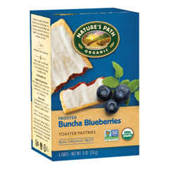 BFG32283 - Nature's PathOrganic Frosted Blueberry Toaster Pastries