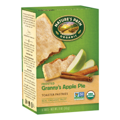BFG32284 - Nature's PathOrganic Frosted Apple Cinnamon Toaster Pastries