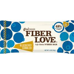 BFG32883 - Gnu FoodsFiberLove Blueberry Cobbler Bars