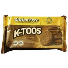 BFG33404 - Kinnikinnick Foods - KinniTOOS Fudge Sandwich Creme Cookies