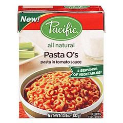 BFG35109 - Pacific Natural FoodsPasta Os All Natural
