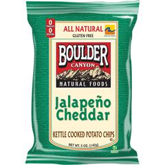 BFG35766 - Boulder CanyonJalapeno Cheddar Kettle Chips