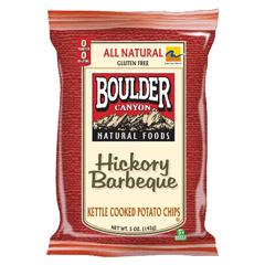 BFG35784 - Boulder CanyonHickory BBQ Potato Chips