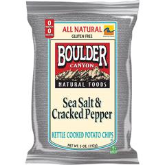BFG35787 - Boulder CanyonSea Salt & Cracked Pepper Kettle Chips