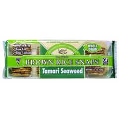 BFG36163 - Edward & SonsBrown Rice Snap Tamari Seaweed Crackers