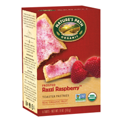 BFG36744 - Nature's PathOrganic Frosted Raspberry Toaster Pastry