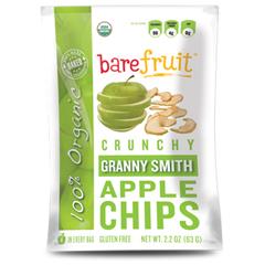 BFG27492 - Bare FruitOrganic Baked-Dried Granny Smith Apple Chips