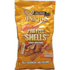 BFG38736 - Unique PretzelsPretzel Shells - Honey Mustard