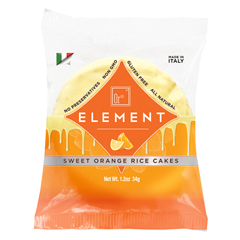 BFG39108 - ElementSweet Vanilla Orange Rice Cakes - 2 Packs