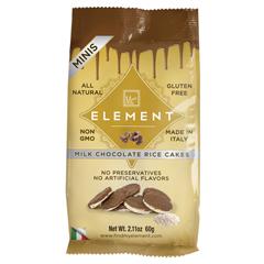 BFG39110 - ElementMilk Chocolate Mini Rice Cakes