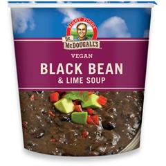 BFG39609 - Dr. McDougall'sBlack Bean & Lime Soup Big Cup Gluten Free