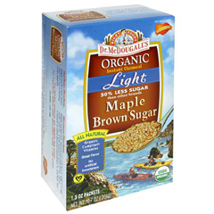 BFG39622 - Dr. McDougall'sOrganic Light Maple Brown Sugar Oatmeal