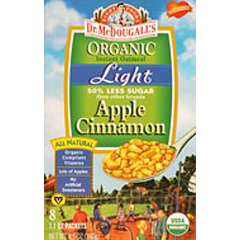 BFG39623 - Dr. McDougall'sOrganic Light Oatmeal Apple Cinnamon