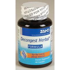 BFG40607 - ZandOther Specific Formulas - Decongest Herbal