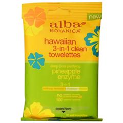 BFG44481 - Alba BotanicaNatural Hawaiian 3-In-1 Clean Toweletts