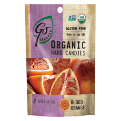 BFG47592 - Go NaturallyOrganic Blood Orange Hard Candy