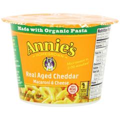BFG48863 - Annie's HomegrownReal Aged Cheddar Mac n Cheese