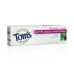BFG52783 - Tom's Of MaineFluoride-Free Antiplaque & Whitening Toothpaste