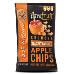 BFG53183 - Bare FruitAll-Natural Sea Salt Caramel Apple Chips