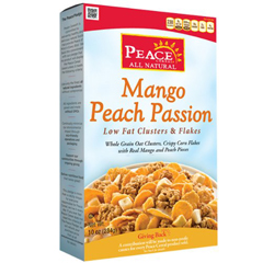 BFG53388 - Peace CerealMango Peach Passion Low Fat Cereal